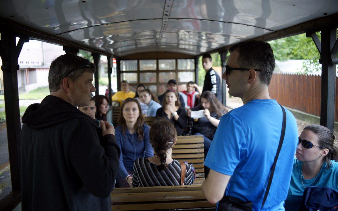 Slovensko-maďarský študentský tím na dobrodružnom výlete v Miskolci
