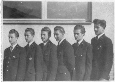 A Rozsnyói Bányaiskola diákjai, 1953