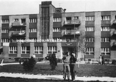 A Rozsnyói bányaiskola épülete, 70-es évek
