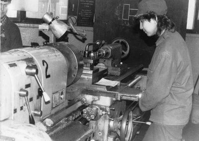 Gyakorlati oktatás a Rozsnyói Bánya iskolában, 1984 1