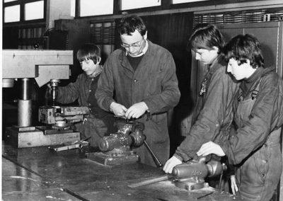 Gyakorlati oktatás a Rozsnyói Bánya iskolában, 1984 2