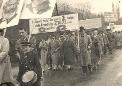 Május 1. az 50-es években
