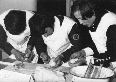 Sztrapacska főzés, 70-es évek